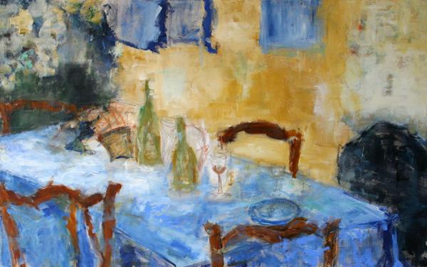 Dinner -2004- 100×160 cm