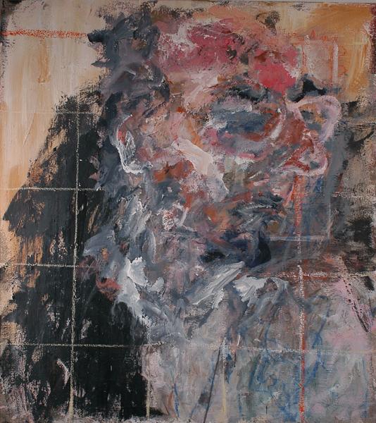 Portrait M. Michel – 2005 – 100×90 cm