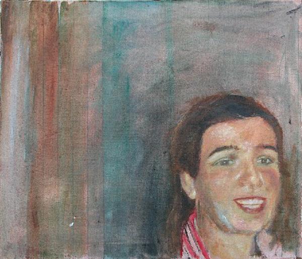 Sandra -2009- 60×70 cm