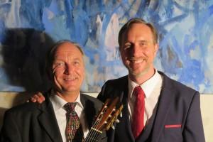 "Bariton Falko Hönisch und Gitarrist Volker Höh boten ""Romantik pur"""